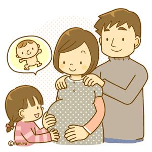 妊婦さんとその家族