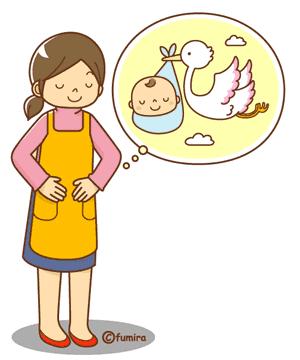子宮を気にする女性