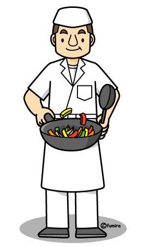自営業の料理人
